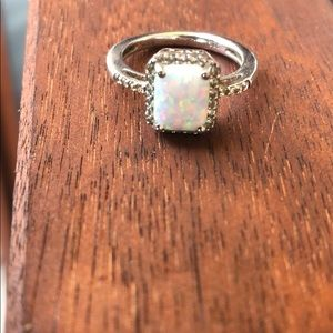 Opal ring size 7.5